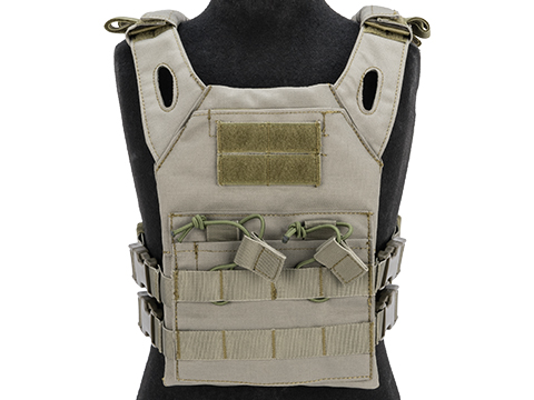 Matrix Level-1 Child Size Plate Carrier (Color: Ranger Green)