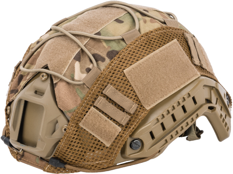 Matrix Bump Type Helmet Cover w/ Elastic Cord (Color: Multicam)
