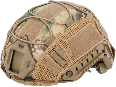 Matrix Bump Type Helmet Cover w/ Elastic Cord (Color: Mandrake)