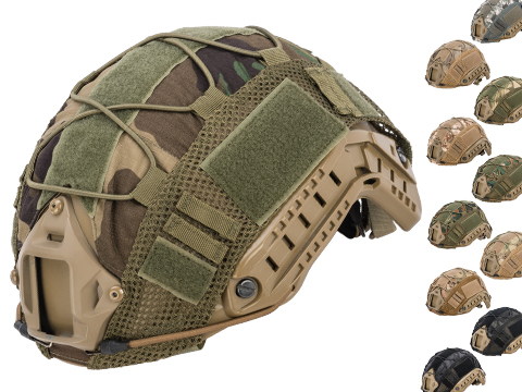 Matrix Bump Type Helmet Cover w/ Elastic Cord