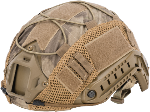 Matrix Bump Type Helmet Cover w/ Elastic Cord (Color: ATACS-AU)
