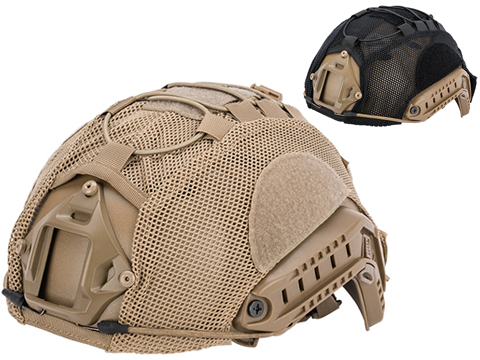 Matrix Bump Type Mesh Helmet Cover w/ Elastic Cord