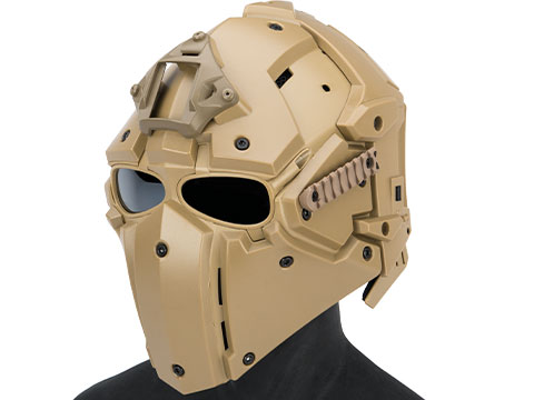 Matrix Tactical Helmet with Cooling Fan (Color: Tan)