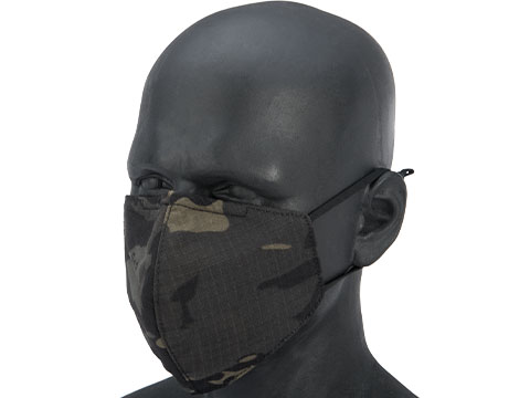 Matrix Knight Reusable Face Mask Sleeve for N95 Face Masks (Color: Multicam Black)
