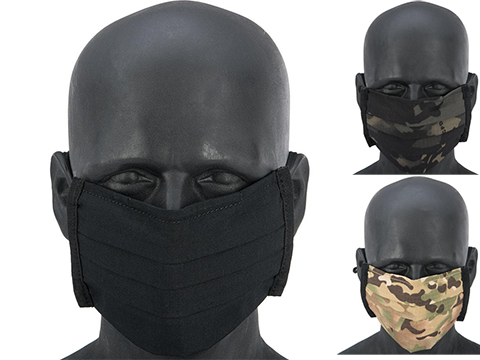 Matrix Strengthened Tactical Anti-Epidemic Reusable Face Mask Sleeve for Disposable Face Masks
