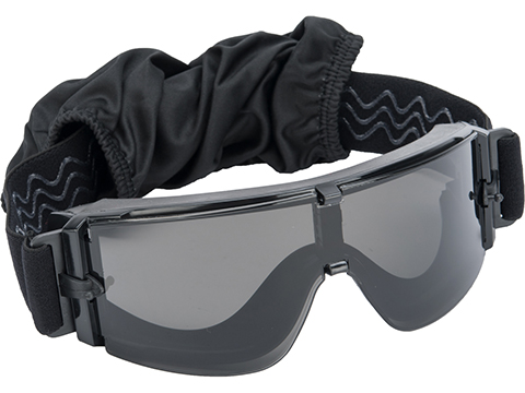 GX-1000 Anti-Fog Tactical Shooting Goggle System with Clear and Smoked Lenses by Guarder / Matrix