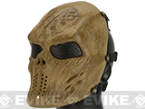 Matrix High Speed Wire Mesh Undead Mask - Desert Skull