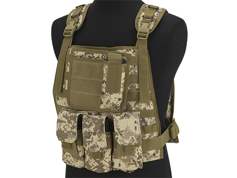 Avengers Tactical Spec. OPS MOLLE Plate Carrier / Load Bearing Vest (Color: Digital Desert)