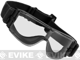 GX-1000 Anti-Fog Tactical Shooting Goggle System w/ CD Kane Strap by Matrix (Lens: Clear / Black Frame)