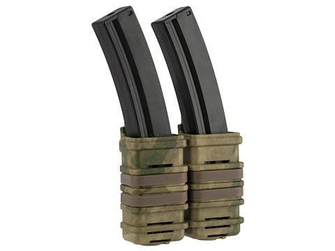 Fast Hard Shell Magazine Holsters Set of 2 for MP7 MP5 Pistol SMG (Color: Arid Foliage)