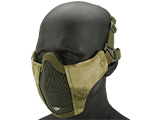 Matrix Low Profile Iron Face Padded Lower Half Face Mask (Color: Arid Foliage)