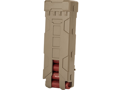Matrix 10 Round MOLLE Polymer Shotgun Shell Carrier (Color: Tan)