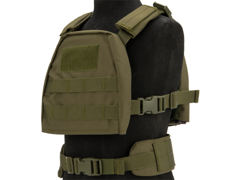 Matrix Tactical Children's Vest with Battle Belt (Color: OD Green / X Small)
