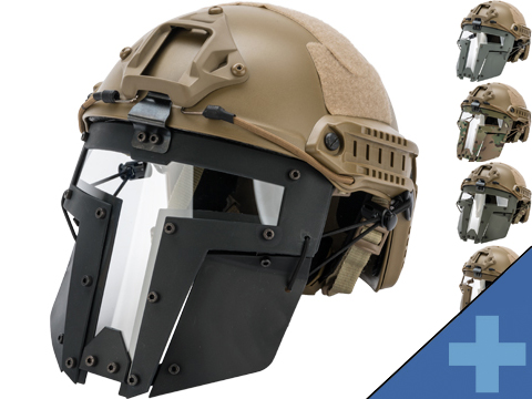 TMC SPT Windowed Face Mask for Bump Helmets