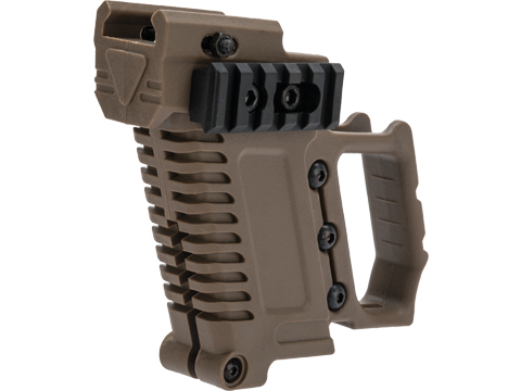 Matrix Custom Pistol Brawler Kit for Elite Force / UMAREX GLOCK Airsoft Gas Blowback Pistols (Color: Tan / Grip Only)