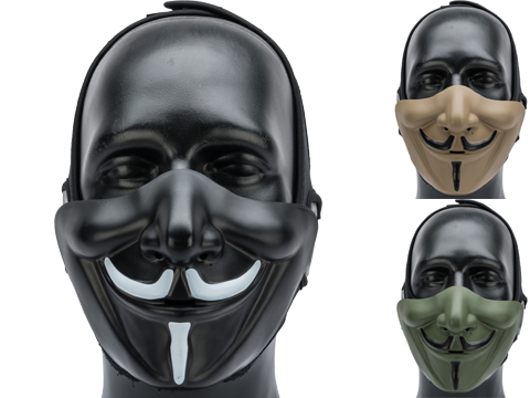 Matrix Vendetta Half Mask