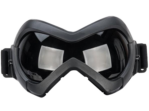 6mmProShop Slipstream Face Mask (Color: Black Frame / Smoke Lens)