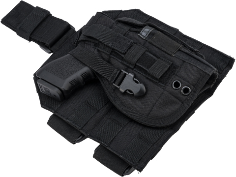 Matrix Tactical Dropleg MOLLE Panel w/ Universal MOLLE Holster