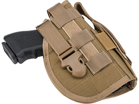 Matrix Tactical Battlefield Elite MOLLE Holster (Color: Tan)