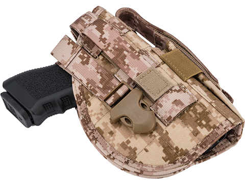 Matrix Tactical Battlefield Elite MOLLE Holster (Color: Digital Desert)