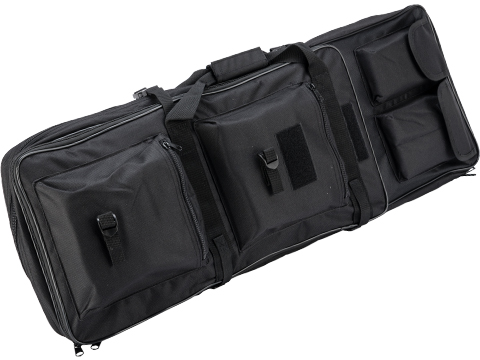 Matrix Tactical Single Padded Rifle Bag with Extension (Color: Black / 33.5)