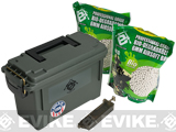 Evike.com Molded Polypropylene Stackable Ammo Can (Made in USA) BB Resupply Kit - (QTY: 2kg / 0.23g Biodegradeable)