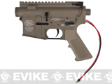G&P Complete M4 Metal Receiver & Gearbox Airsoft AEG ProKit (G&P USA) (Version: Rear Wire / Desert)