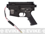 G&P Complete M4 Metal Receiver & Gearbox Airsoft AEG ProKit (G&P USA) Front Wire / Black