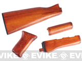 Real Hard Wood Furniture Kit for AK47 AK Series Airsoft AEG