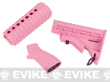 z G&G Femme Fatale Pink M4A1 Conversion Kit for M4 Series Airsoft AEG Rifles