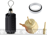 z Airsoft Innovations Tornado Airsoft Gas Powered BB Grenade w/ FREE Bang Device and Propane Adapter Kit - Impact / Black