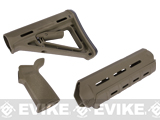 PTS Magpul MOE Conversion Kit for M4 Series Airsoft AEGs - (OD Green)