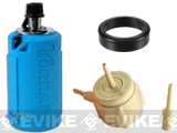 z Airsoft Innovations Tornado Airsoft Gas Powered BB Grenade w/ FREE Bang Device and Propane Adapter Kit - Timer / Blue