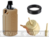 z Airsoft Innovations Tornado Airsoft Gas Powered BB Grenade w/ FREE Bang Device and Propane Adapter Kit - Timer / Tan