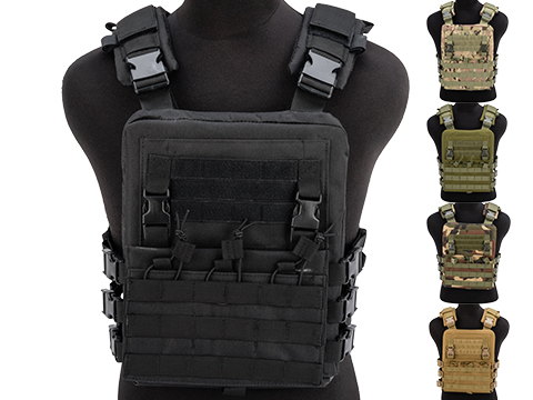 Matrix Adaptive Plate Carrier Vest w/ QD Assault Panel & Pack