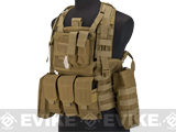 Matrix Special Operations RRV Style Chest Rig - Coyote