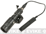 Matrix Airsoft Tactical CREE LED Scout Mini Weapon Light with Strobe Function and Pressure Pad - Black
