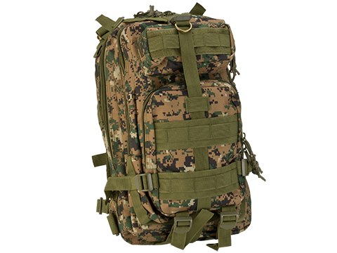 Avengers Lightweight MOLLE Patrol Pack (Color: Digital Woodland)