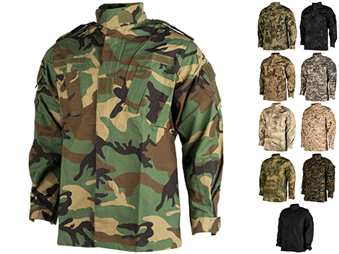 ACU Type Ripstop BDU Jacket (Color: Woodland / Medium)