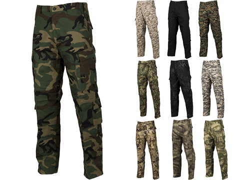 ACU Type Ripstop BDU Pants (Color: Woodland / Large)