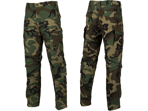 ACU Type Ripstop BDU Pants (Color: Woodland / X-Large)