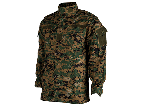 ACU Type Ripstop BDU Jacket (Color: Digital Woodland / Medium)