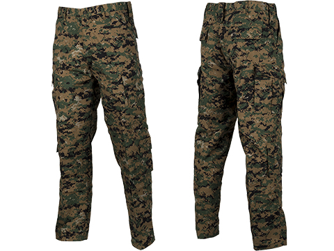ACU Type Ripstop BDU Pants (Color: Digital Woodland / Large)