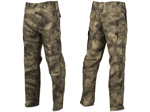 ACU Type Ripstop BDU Pants (Color: Arid Camo / Small)