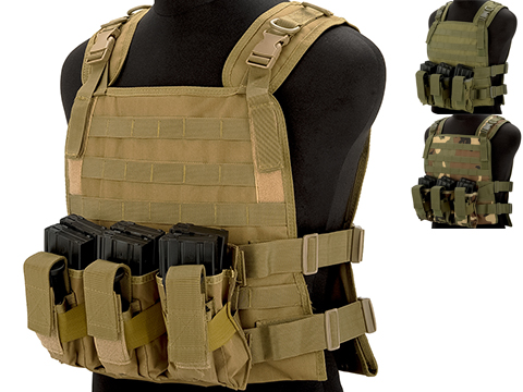 Matrix 600D MOLLE Plate Carrier Tactical Package with Hydration Carrier
