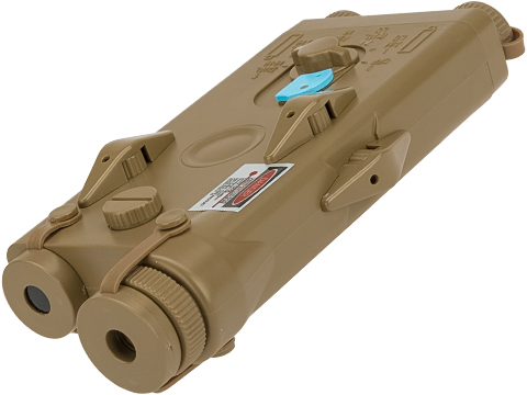Z-Tactical PEQ-2 External Battery Box with Integrated Laser (Color: Tan)
