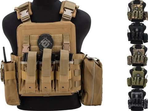 Matrix Adaptive Plate Carrier Vest w/ Cummerbund & Pouches