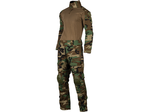 Matrix Combat Uniform Set (Color: Woodland / Large)