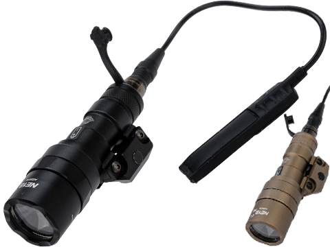 Night Evolution Tactical CREE LED Scout Mini Weapon Light w/ Pressure Pad