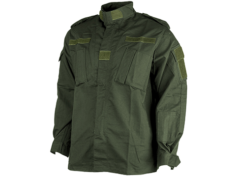 ACU Type Ripstop BDU Jacket (Color: OD Green / X-Large)
